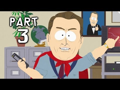 South Park Stick of Truth Gameplay Walkthrough Part 3 - ManBearPig