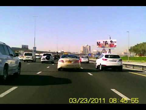 Passenger transport violations on Dubai roads.wmv