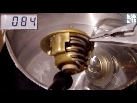 Motor- Thermostat prüfen (Heißwassermethode) [HD 720] (Motor bzw. Heizung wird nicht warm)