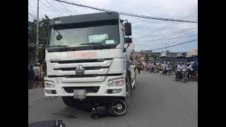 Tai nạn giao thông mới nhất ở Sài Gòn: Hai mẹ con đi xe máy bị xe ô tô tải cán tử vong
