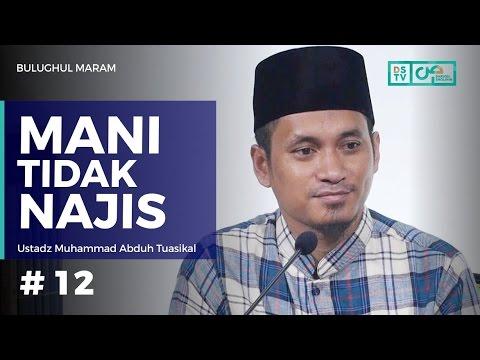 Bulughul Maram (12) : Mani Tidak Najis - Ustadz M Abduh Tuasikal