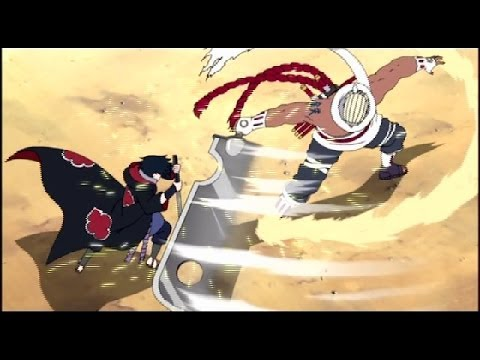 【amv】naruto - Sasuke Vs Killer Bee - Impossible video