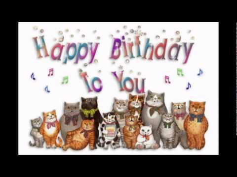Youtube открытки на день рождения