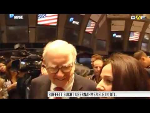 Warren Buffett steht auf