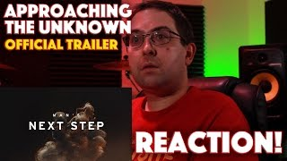 REACTION! Approaching the Unknown Official Trailer