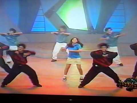 "kidz@work dance to ""baby boy"" with katya santos and pola peralejos"