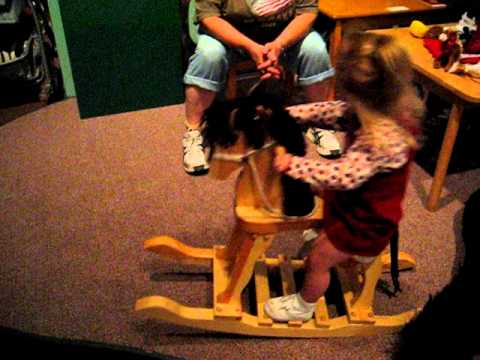Reese on the Rocking Horse 9/24/11
