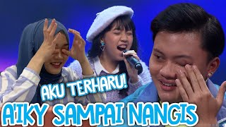 REACTION MENAHAN RASA SAKIT - AMANDA MAREN THE VOICE KIDS INDONESIA