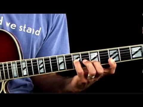 Jazz Guitar Lessons - Inversion Excursion - C Major Chord Clusters