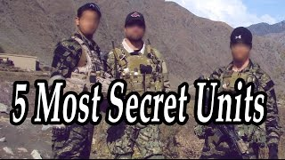 Best Special Forces. Armed Units. TOP 5 Most Secret Units in Military History