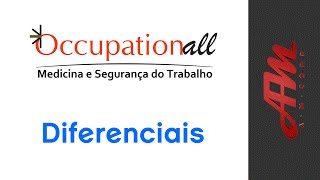 Occupationall - Diferenciais #AMCorp