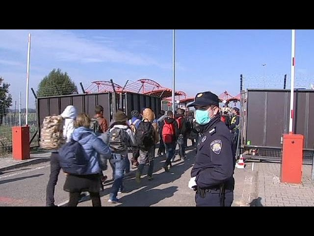 Migrant crisis: Hungary poised to shut unofficial border crossings with Croatia