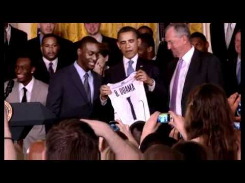 Kemba Walker White House