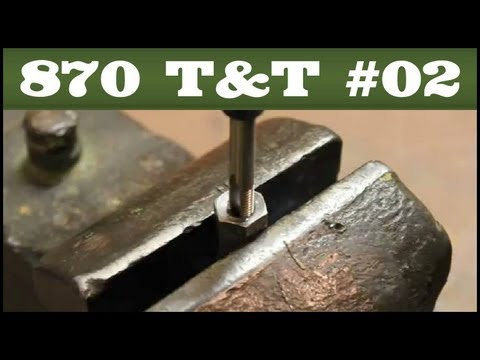 Receiver Stud Replacement & Repair - Remington 870 Tips & Tricks #2