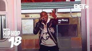 Flipp Dinero Had The Crowd Bumpin' To 'Leave Me Alone!' | Hip Hop Awards 2018