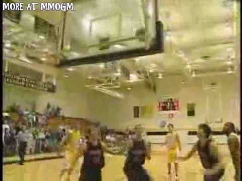 Basketball - Crazy Lucky Shot!