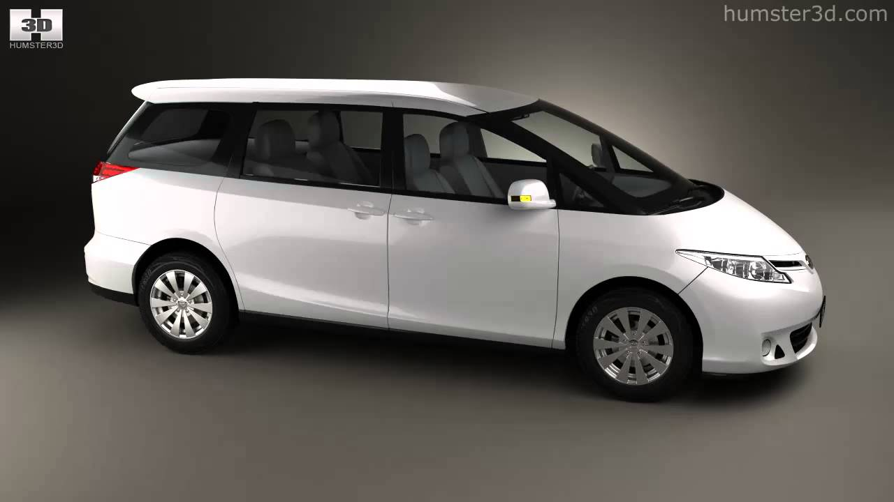 Buy A Toyota >> Toyota Previa 2013 by 3D model store Humster3D.com - YouTube
