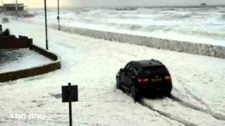 Mystery Foam Invades UK Town - Blackpool
