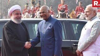 Iranian President Meets PM Narendra Modi & President Ramnath Kovind