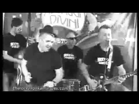 The Rock'n'Roll Kamikazes - Drinking Wine - live set on Icaro tv in 1955