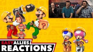 Super Mario Maker 2 Direct (May 2019) - Easy Allies Reactions