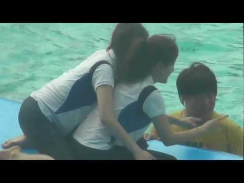 [21.03.13] T-Ara play in pool (JiMin moments)