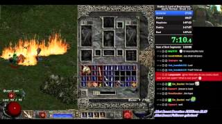 Diablo 2 LoD any% RTA Speedrun Druid 1:32:28 [WR]