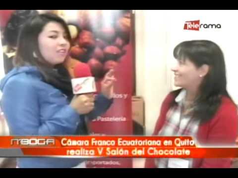 Cámara Franco Ecuatoriana en Quito realiza V Salón del Chocolate