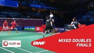 F | XD | ZHENG/HUANG (CHN) [1] vs SEO/CHAE (KOR) | BWF 2018