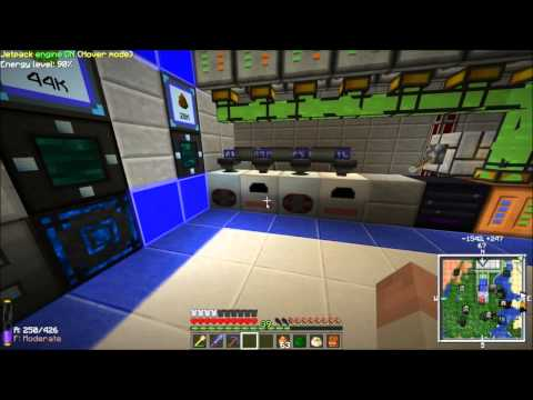 Applied Energistics and Minefactory Reloaded Power Plant