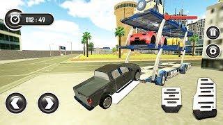 Car Transporter Truck Multi Parking (Transportation Cars) #2 | Gameplay Android