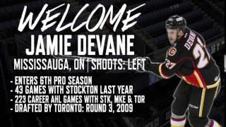 Welcome Jamie Devane