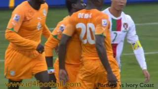 Portugal vs Ivory Coast