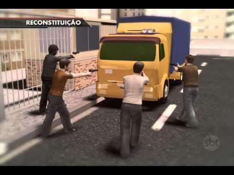 Jornal do SBT (23/07/15) Jovem e PM são baleados durante tiroteio no Rio de Janeiro