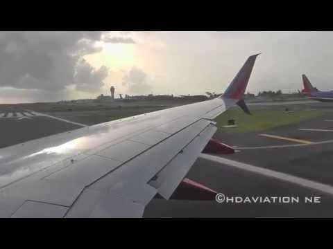 Stunning Southwest 737-800 (Split Scimitar Winglets!) Takeoff & Departure From San Juan TJSJ/SJU