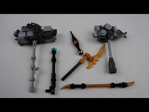 LEGO MARVEL Infinity war weapons! (Black order)
