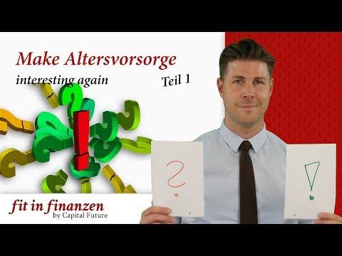 Make Altersvorsorge interesting again
