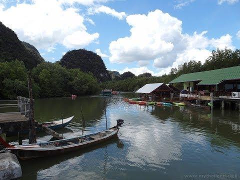 Kayaking at Ban Bor Thor, Ao Leuk, Krabi
