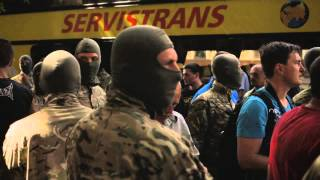 "Departure of the new corps of Batalion ""AZOV"" to the ATO zone."