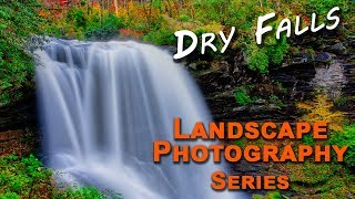 Dry Falls in Low Light Conditions, Landscape Photography Series