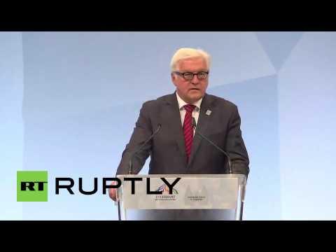 Germany: FM Steinmeier lauds