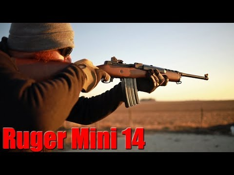 Ruger Mini 14 First Shots