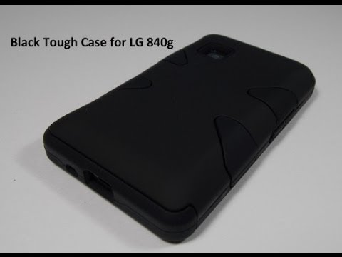 Black Tough Case for LG 840g