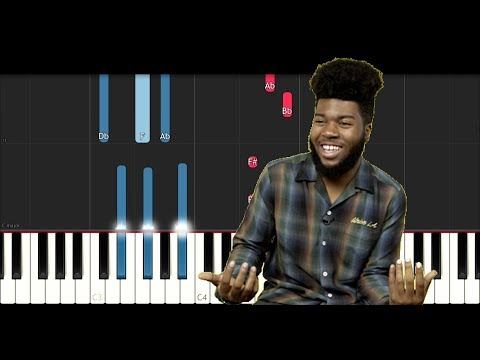 Khalid - Young, Dumb and Broke (Piano Tutorial)