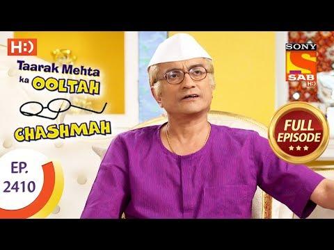 Taarak Mehta Ka Ooltah Chashmah - Ep 2410 - Full Episode - 23rd February, 2018 thumbnail