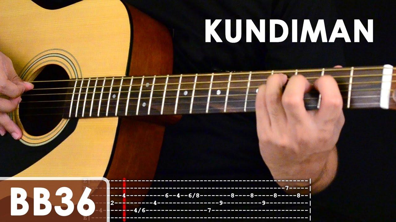Kundiman - Silent Sanctuary Intro Guitar Tutorial - YouTube