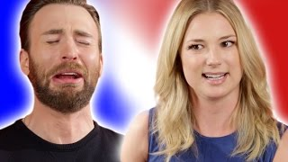 "Chris Evans & the Captain America: Civil War Cast Play ""Superhero Would You Rather?"