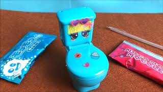 Đồ chơi trẻ em Popin cookin Toilet Bowl - Chị Chim Xinh uống thức uống trong bồn cần Japan's Toys