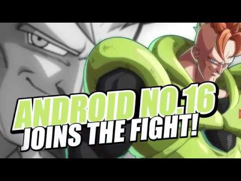 Dragon Ball FighterZ | Android 16 Character Trailer