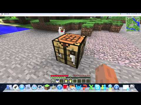 Minecraft - 1.1.0 How to Make a Quarry Using Buildcraft Music Videos